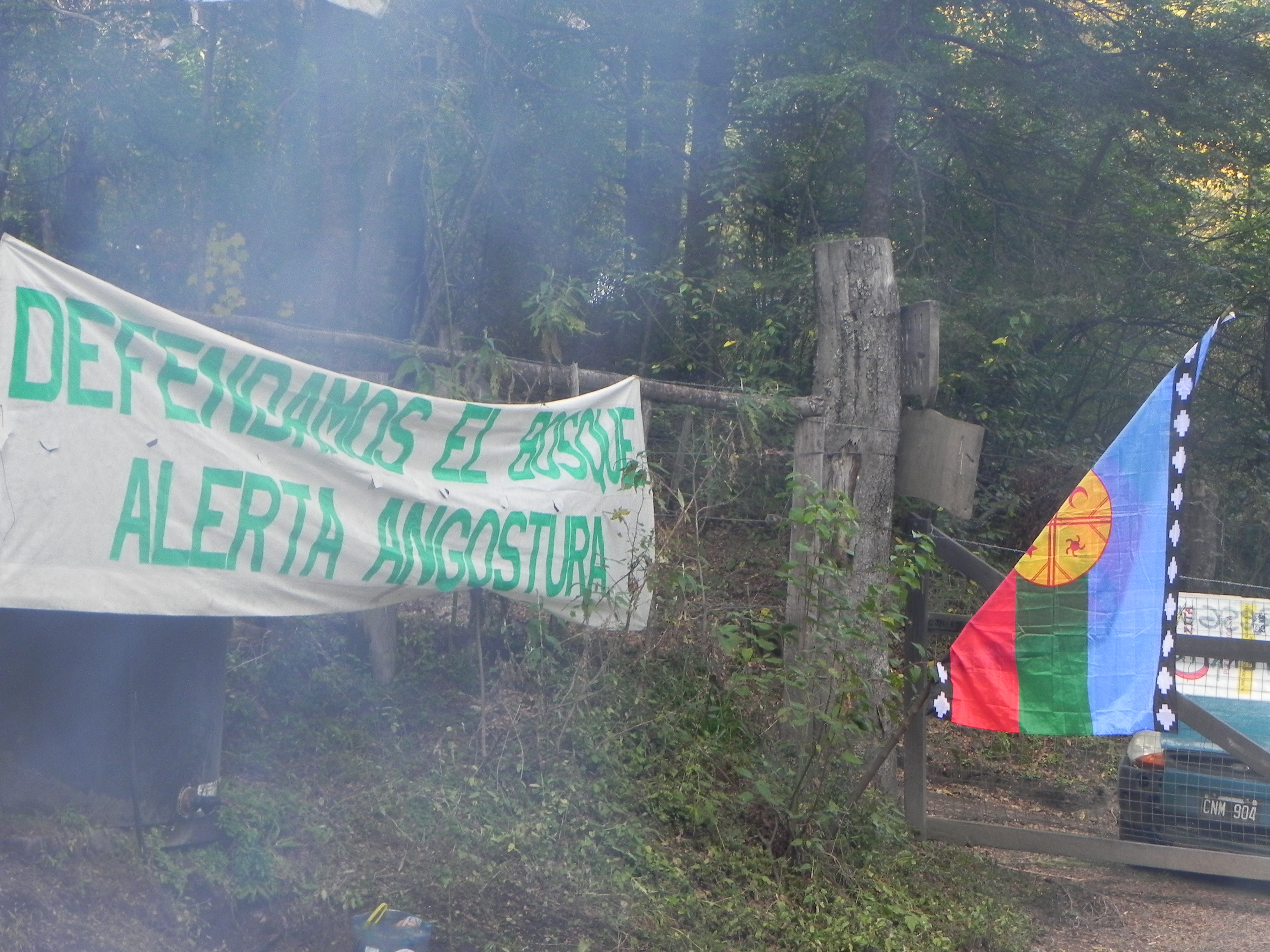 Protesta desmontes Villa la Angostura